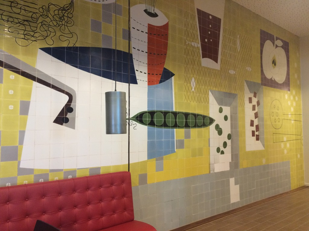 tiled wall adagio aparthotel lewis' liverpool