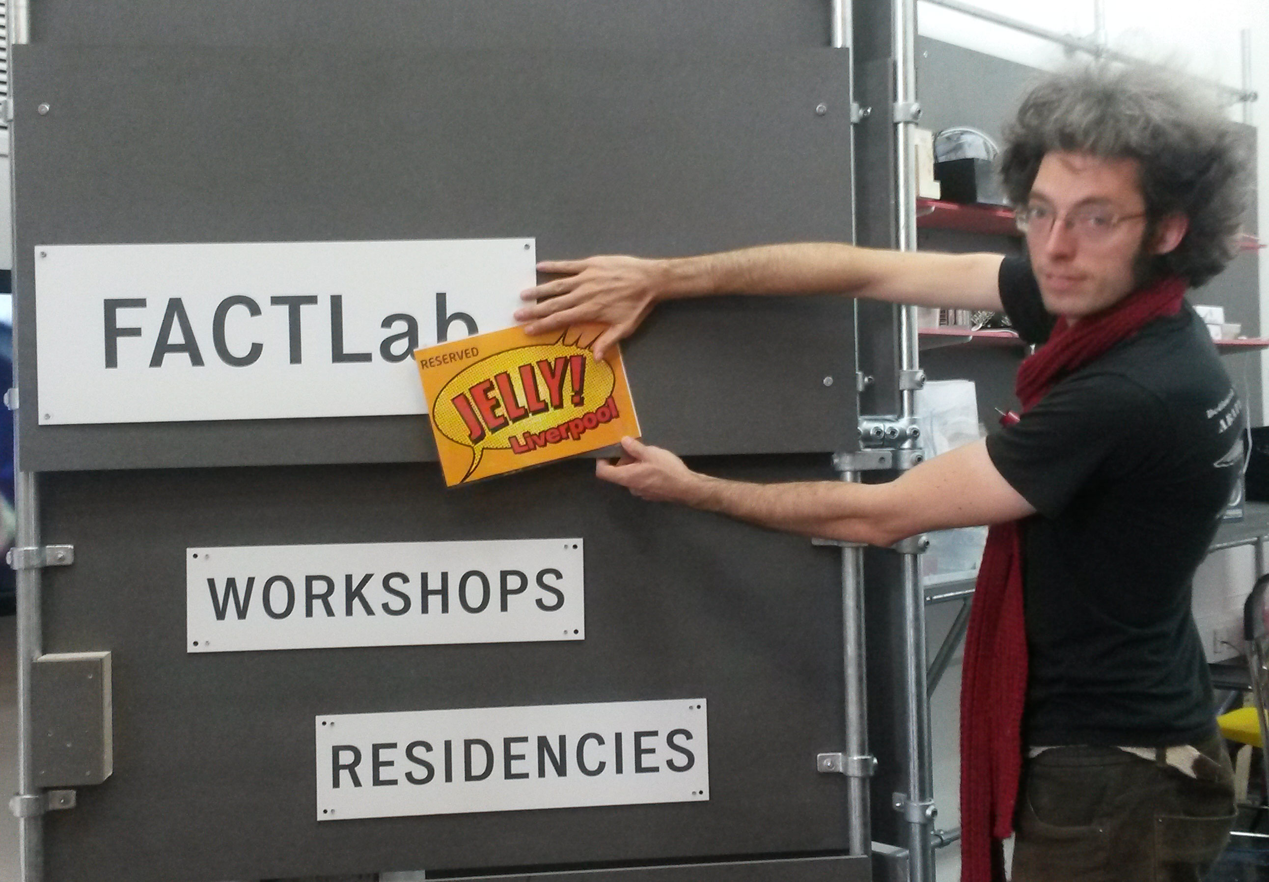 FactLab has been reserved for Jelly Liverpool