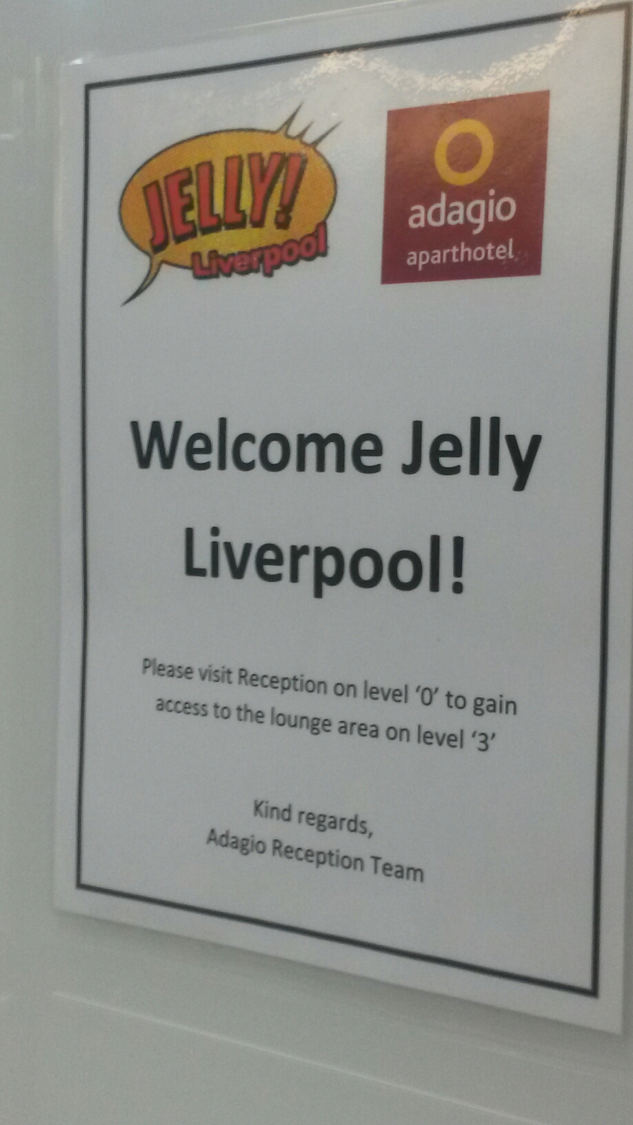 A wrap up from today at Jelly